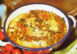 Pescespada in salsa di ravanelli